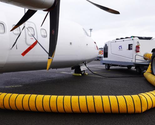 Flugzeug-Klimagerät